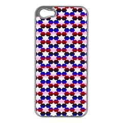 Star Pattern Apple Iphone 5 Case (silver)
