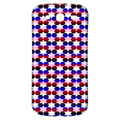 Star Pattern Samsung Galaxy S3 S Iii Classic Hardshell Back Case