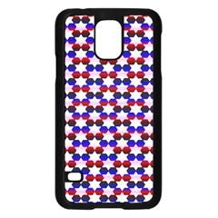 Star Pattern Samsung Galaxy S5 Case (black)