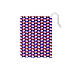 Star Pattern Drawstring Pouches (small)
