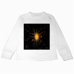 Star Christmas Advent Decoration Kids Long Sleeve T Shirts