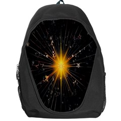 Star Christmas Advent Decoration Backpack Bag
