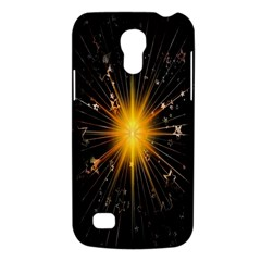Star Christmas Advent Decoration Galaxy S4 Mini by Nexatart