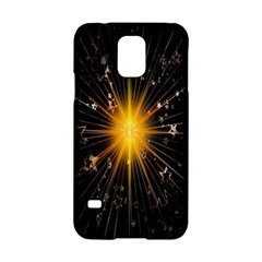 Star Christmas Advent Decoration Samsung Galaxy S5 Hardshell Case  by Nexatart