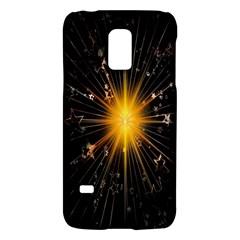 Star Christmas Advent Decoration Galaxy S5 Mini by Nexatart