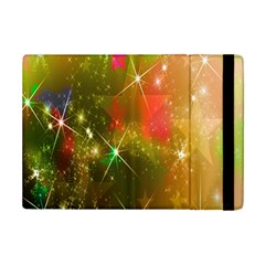 Star Christmas Background Image Red Ipad Mini 2 Flip Cases