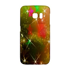 Star Christmas Background Image Red Galaxy S6 Edge