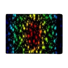 Star Christmas Curtain Abstract Apple Ipad Mini Flip Case