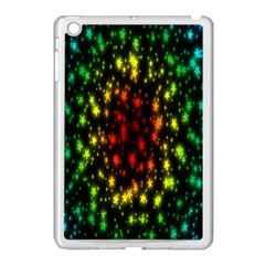 Star Christmas Curtain Abstract Apple Ipad Mini Case (white)