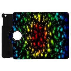 Star Christmas Curtain Abstract Apple Ipad Mini Flip 360 Case