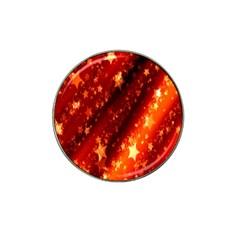 Star Christmas Pattern Texture Hat Clip Ball Marker