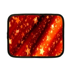 Star Christmas Pattern Texture Netbook Case (small)