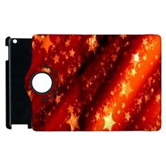 Star Christmas Pattern Texture Apple Ipad 3/4 Flip 360 Case