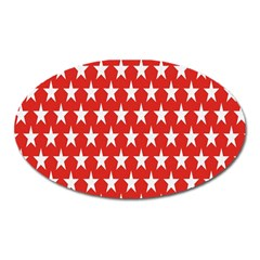 Star Christmas Advent Structure Oval Magnet by Nexatart