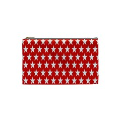 Star Christmas Advent Structure Cosmetic Bag (small)  by Nexatart