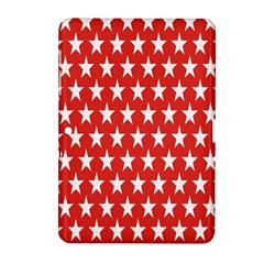 Star Christmas Advent Structure Samsung Galaxy Tab 2 (10 1 ) P5100 Hardshell Case