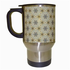 Star Basket Pattern Basket Pattern Travel Mugs (white)