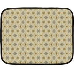 Star Basket Pattern Basket Pattern Double Sided Fleece Blanket (mini)