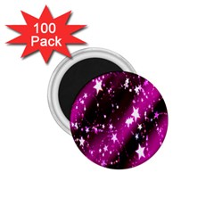 Star Christmas Sky Abstract Advent 1 75  Magnets (100 Pack)  by Nexatart