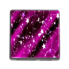 Star Christmas Sky Abstract Advent Memory Card Reader (square)