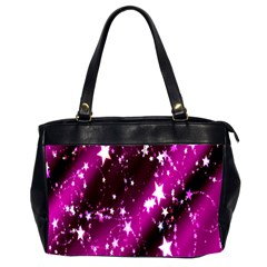 Star Christmas Sky Abstract Advent Office Handbags (2 Sides)  by Nexatart