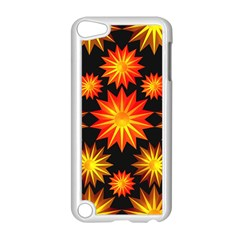Stars Patterns Christmas Background Seamless Apple Ipod Touch 5 Case (white)