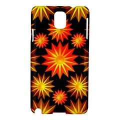 Stars Patterns Christmas Background Seamless Samsung Galaxy Note 3 N9005 Hardshell Case