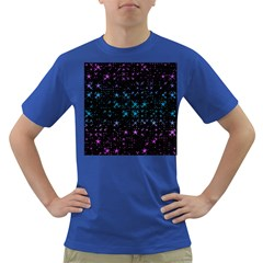 Stars Pattern Dark T Shirt