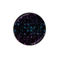 Stars Pattern Hat Clip Ball Marker (10 Pack)