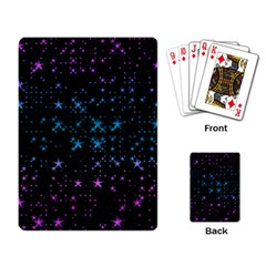 Stars Pattern Playing Card