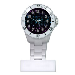 Stars Pattern Plastic Nurses Watch by Nexatart