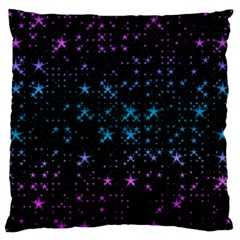 Stars Pattern Standard Flano Cushion Case (two Sides)