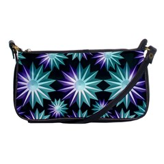 Stars Pattern Christmas Background Seamless Shoulder Clutch Bags