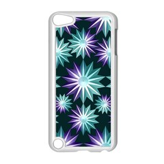 Stars Pattern Christmas Background Seamless Apple Ipod Touch 5 Case (white)