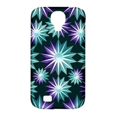 Stars Pattern Christmas Background Seamless Samsung Galaxy S4 Classic Hardshell Case (pc+silicone)