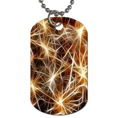 Star Golden Christmas Connection Dog Tag (two Sides)