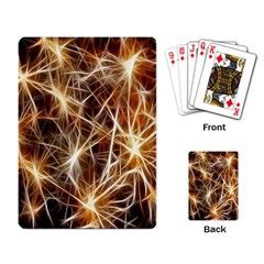 Star Golden Christmas Connection Playing Card