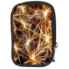 Star Golden Christmas Connection Compact Camera Cases by Nexatart
