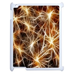 Star Golden Christmas Connection Apple Ipad 2 Case (white) by Nexatart