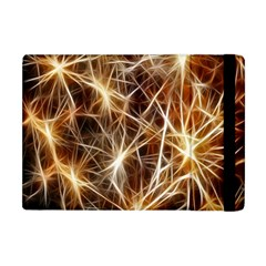 Star Golden Christmas Connection Apple Ipad Mini Flip Case by Nexatart