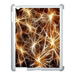 Star Golden Christmas Connection Apple Ipad 3/4 Case (white) by Nexatart