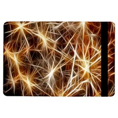 Star Golden Christmas Connection Ipad Air Flip by Nexatart