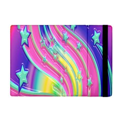 Star Christmas Pattern Texture Apple iPad Mini Flip Case by Nexatart