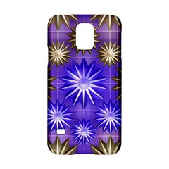 Stars Patterns Christmas Background Seamless Samsung Galaxy S5 Hardshell Case  by Nexatart
