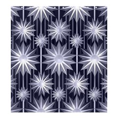 Stars Patterns Christmas Background Seamless Shower Curtain 66  X 72  (large)  by Nexatart