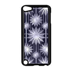 Stars Patterns Christmas Background Seamless Apple Ipod Touch 5 Case (black)