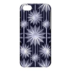 Stars Patterns Christmas Background Seamless Apple Iphone 5c Hardshell Case by Nexatart