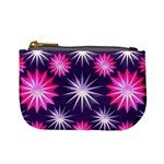 Stars Patterns Christmas Background Seamless Mini Coin Purses Front