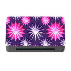 Stars Patterns Christmas Background Seamless Memory Card Reader With Cf