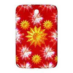 Stars Patterns Christmas Background Seamless Samsung Galaxy Note 8 0 N5100 Hardshell Case